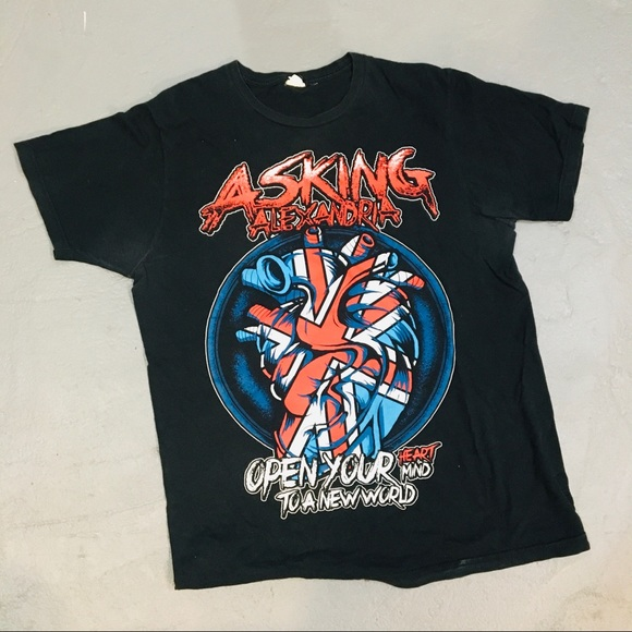 Shirts Asking Alexandria Vintage Band Shirt Small Poshmark